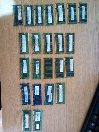 Memorias Portatil DDR2.
