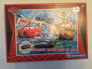 Juguete puzzle Cars 100 piezas 38x30cm