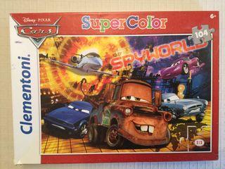 Juguete puzzle Cars 104 piezas 48.5x33.5cm.