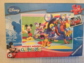 Juguete 2 Puzzles Disney 2x20 piezas, 26.2x18.1cm.