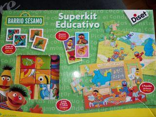 juegos educativos barrio sesamo