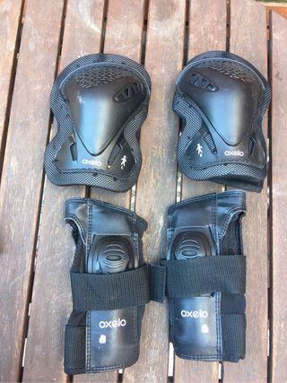 Protecciones patines