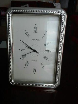 Reloj de plata de Pedro Durán