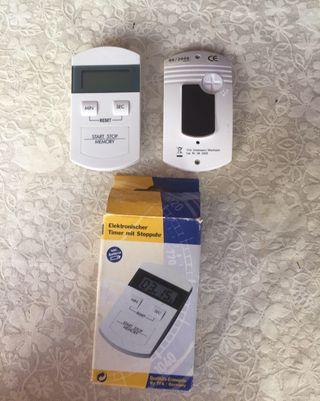 Cronometro avisador alarma con imán para nevera
