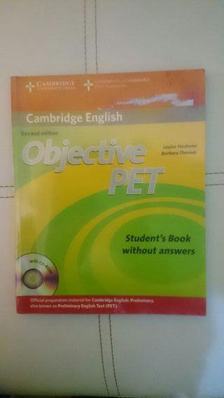 Libro Objetive PET Cambridge
