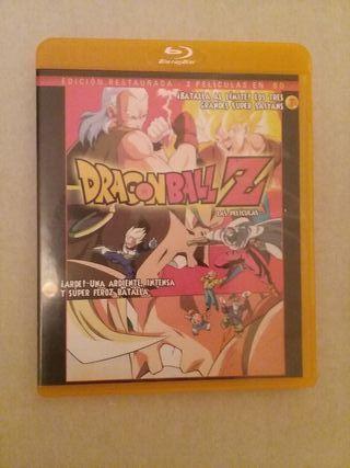 2 películas edición restaurada dragon ball z