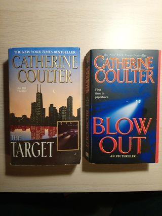 2 Libros en Inglés de Catherine Coulter.