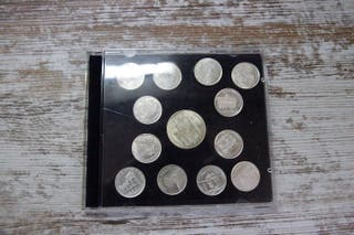 Monedas plata de Salamanca