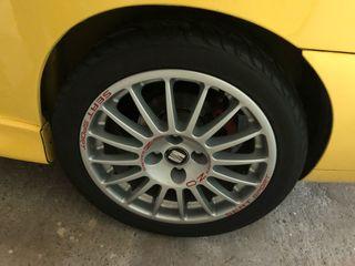 """Llantas Seat Sport 16"""" 4x100 originales"""