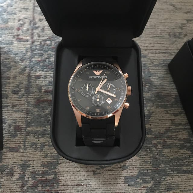 Emporio Armani AR5905 watch for men's brand new