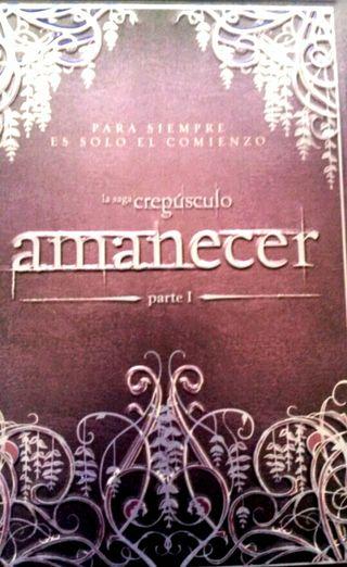 Crepúsculo: Amanecer - 3 DVD Steelbook