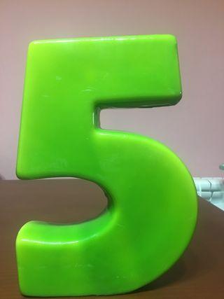 Vela verde 20cm altura
