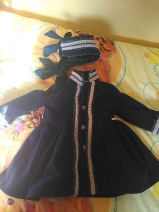 abrigo chic to kids talla 2 con capota