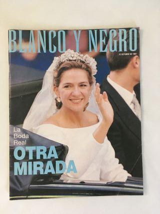 Revista Blanco y Negro Boda Cristina-Urdangarin