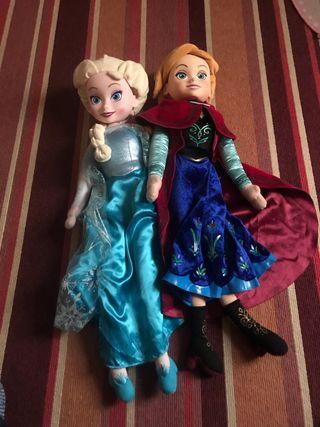 Frozen Princess Elsa & Anna Doll Featuring 20 inch