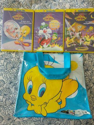 Pack DVD's Piolín y Silvestre
