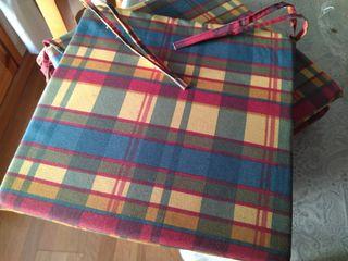Cojines protectores para sillas de cocina