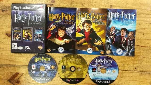 Harry Potter La Coleccion Para Ps2 De Segunda Mano Por 30 En Campo