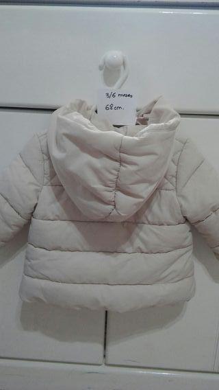 Cazadora bebé 3/6m 68cm Zara