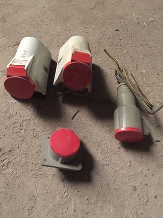 Base enchufe para 380V y 220V