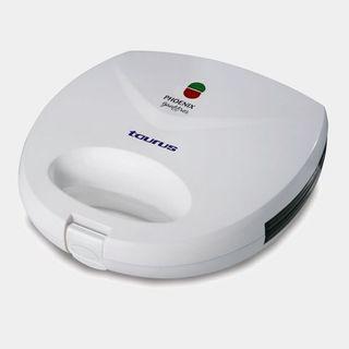 Sandwich toaster in white