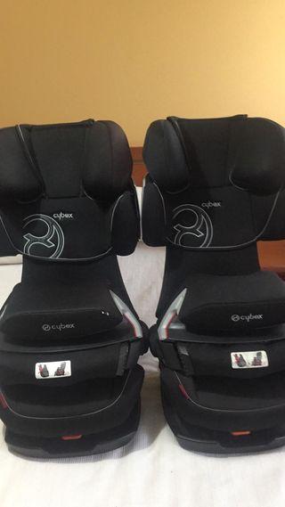 Dos sillas de coche Cibex Pallas