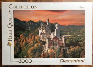 """Puzzle """"Castillo Neuschwastein"""" 3000 piezas"""