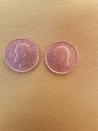 2 moneda 10 pesetas antigua
