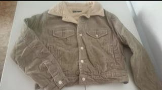 abrigo de pana talla L
