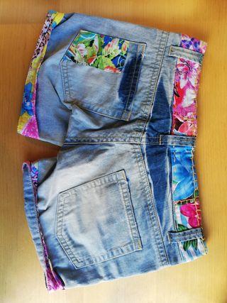 Pantalones shorts tejanos Desigual auténticos