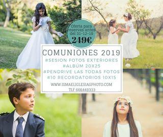 pack comuniones 2019
