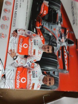 coche radio control Fórmula 1 Fernando alonso