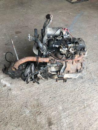 Motor y caja de cambios Renault 4L