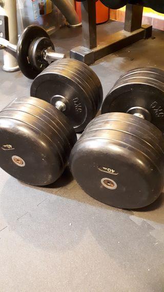 Mancuernas 40 kg