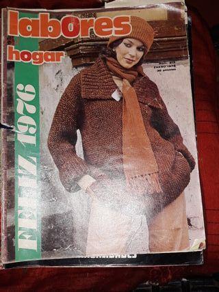 3 Revistas LABORES DEL HOGAR.Años 70