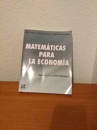 Matemáticas para la economia