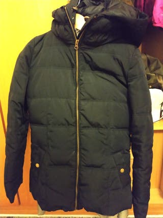 Abrigo Mujer Segunda 40 Mano Por Wear Talla Plumas Easy De 15 Negro Hnr4wx6n
