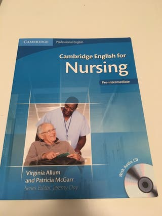 Cambridge English For Nursing Pre-intermediate Students Book