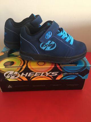 Zapatillas con ruedas Hellys talla 30