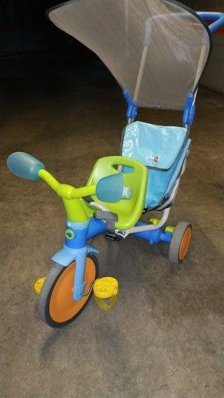 triciclo para bebés evolutivo IMAGINARIUM
