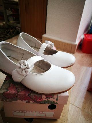 zapatos niña talla 28