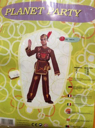 Disfraz de indio para niño. Talla S