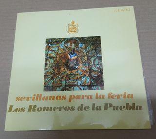 Los Romeros de la Puebla. Disco Sevillanas