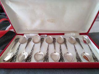 cucharillas de plata