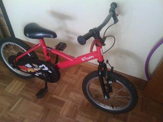 Bicicleta niño rueda 16