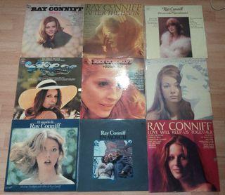 Colección 9 discos vinilo Ray Conniff