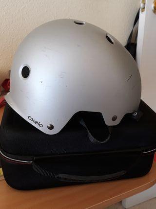 dos casco oxelo skate y bici