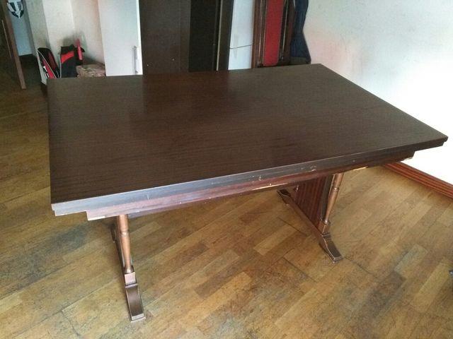Mesa extensible de madera para comedor de segunda mano por 25 € en ...