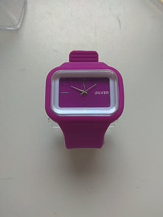 Reloj Silicona de la marca Silver