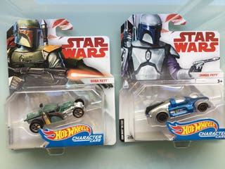 Hot Wheels Star Wars character cars lote 4